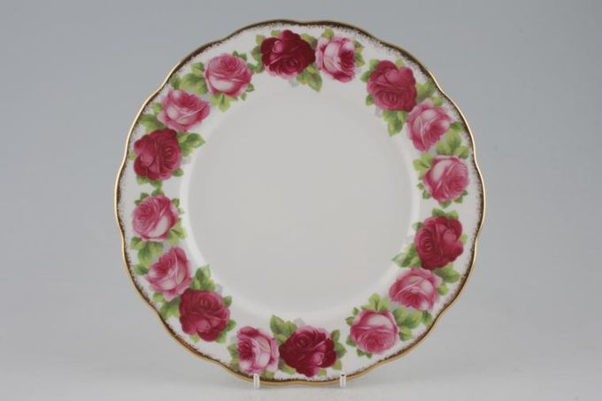 Royal Albert Old English Rose - New Style Breakfast / Salad / Luncheon Plate 9 1/4""