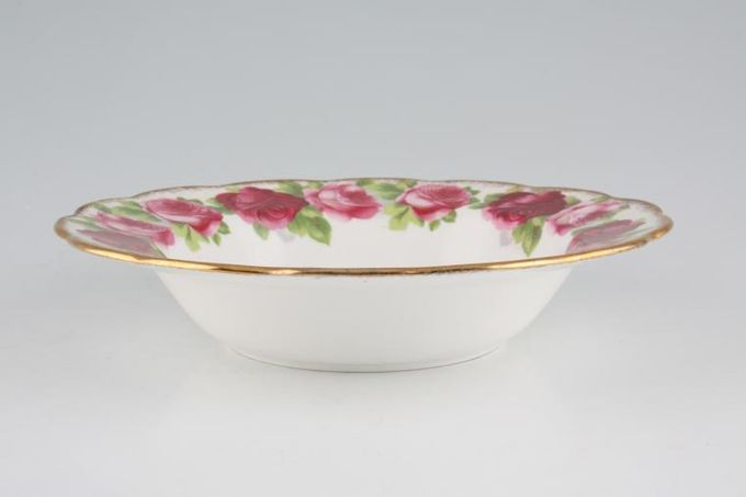 Royal Albert Old English Rose - New Style Rimmed Bowl 8 1/8""