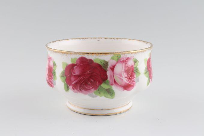"Royal Albert Old English Rose - New Style Sugar Bowl - Open (Tea) 4"""