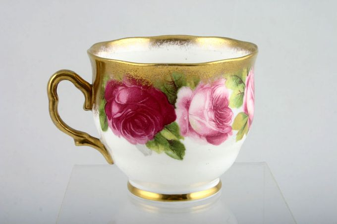 """Royal Albert Old English Rose - Old Style Teacup 3 x 2 5/8"""""""