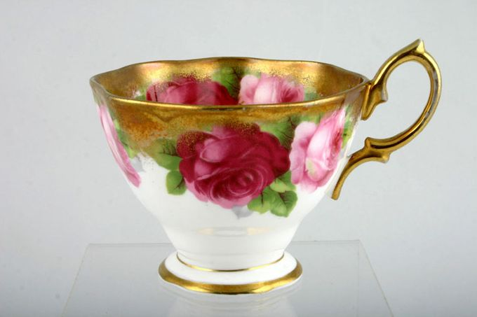 Royal Albert Old English Rose - Old Style Teacup Shaped Rim 3 1/2 x 2 1/2""