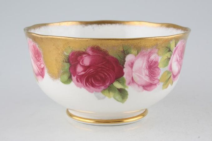 "Royal Albert Old English Rose - Old Style Sugar Bowl - Open (Tea) 4 3/4"""