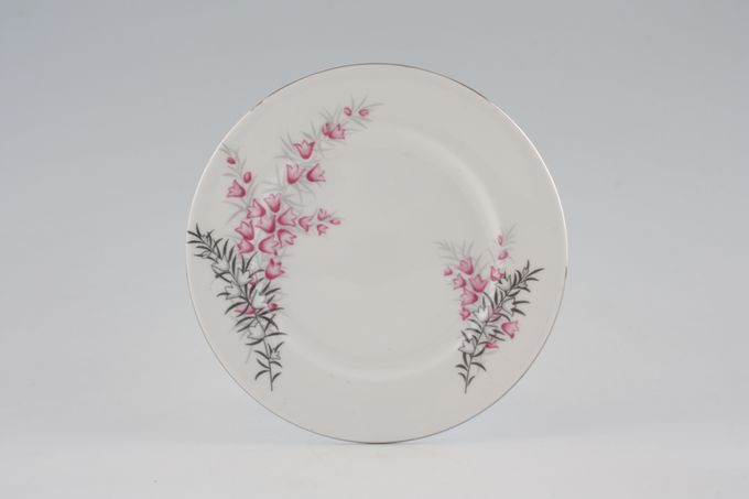 "Royal Albert Pixie Pink Tea / Side / Bread & Butter Plate plain edge 6 1/4"""