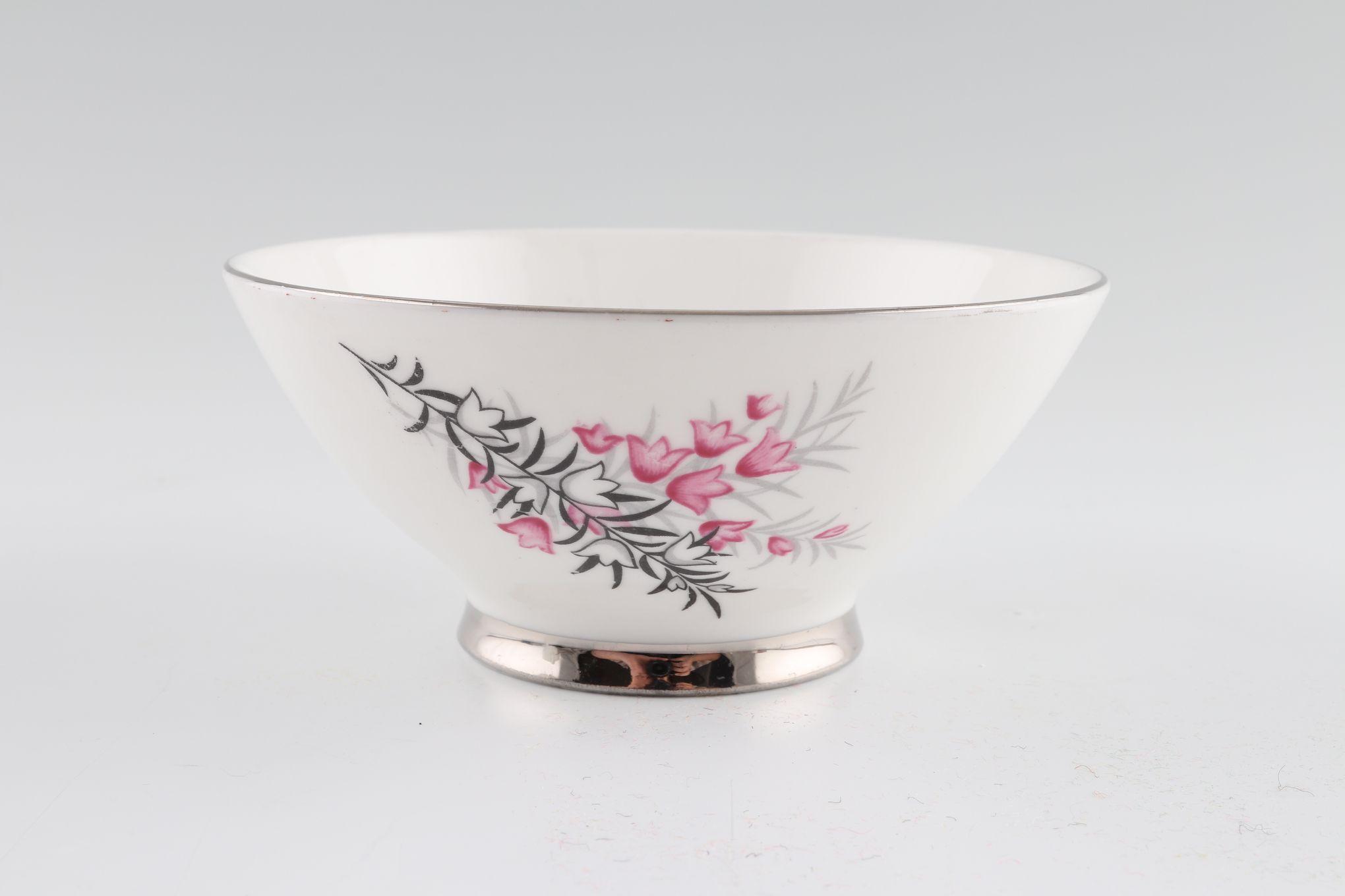 "Royal Albert Pixie Pink Sugar Bowl - Open (Tea) plain rim 4 5/8"" thumb 1"