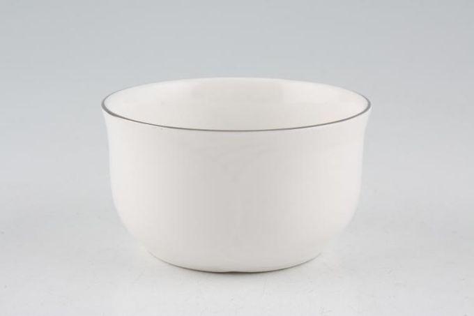 "Royal Albert Platino Sugar Bowl - Open (Coffee) 3 3/8"""