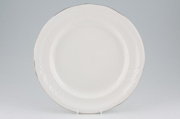 "Royal Albert Platino Dinner Plate 10 1/4"""