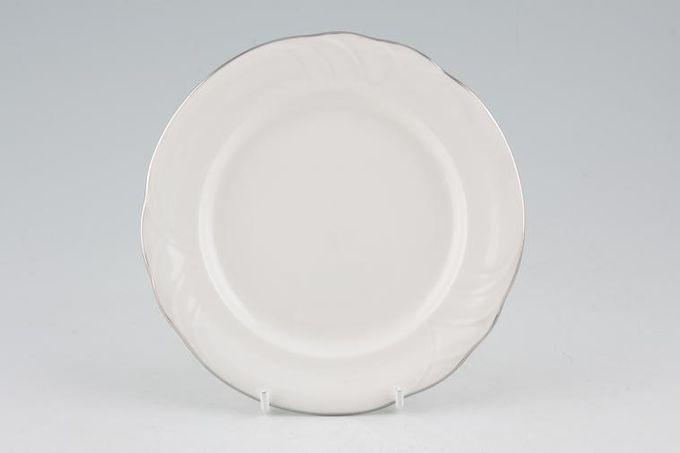 "Royal Albert Platino Starter / Salad / Dessert Plate 8 1/4"""