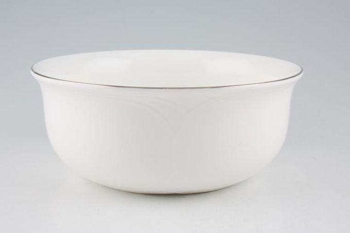 Royal Albert Platino Salad Bowl 8""
