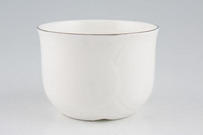 "Royal Albert Platino Sugar Bowl - Open (Tea) 3 7/8"""