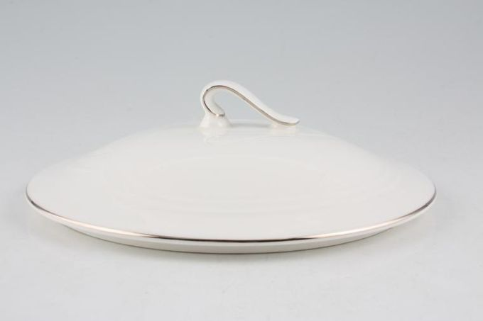 Royal Albert Platino Vegetable Tureen Lid Only 8""