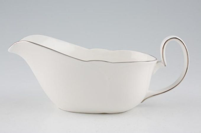 Royal Albert Platino Sauce Boat Royal Doulton B/S