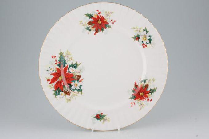 """Royal Albert Poinsettia Dinner Plate 10 3/8"""""""