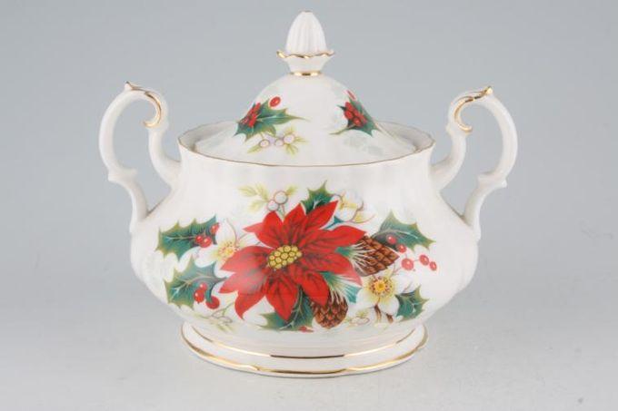 Royal Albert Poinsettia Sugar Bowl - Lidded (Tea)