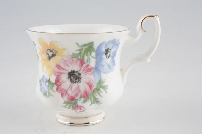 "Royal Albert Polka Coffee Cup 2 7/8 x 2 5/8"""