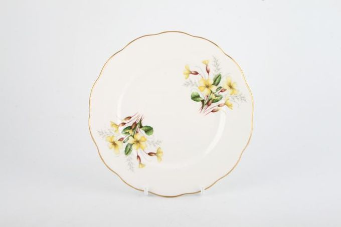 Royal Albert Primrose Tea / Side / Bread & Butter Plate Wavy Edge 6 3/8""
