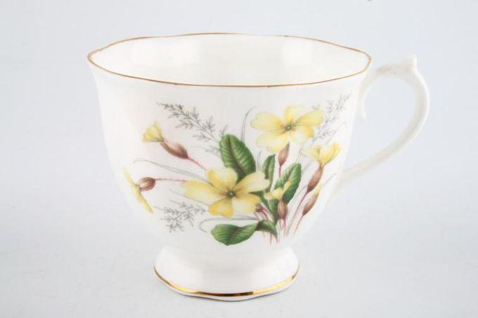 "Royal Albert Primrose Teacup Pattern on outside 3 3/8 x 2 7/8"""