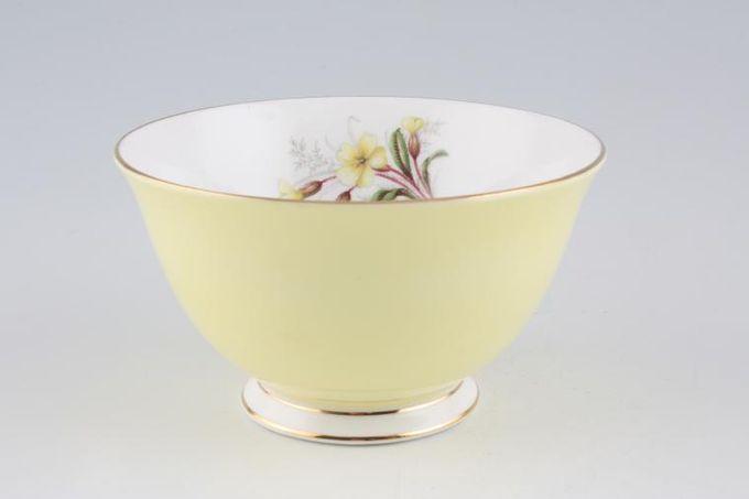 """Royal Albert Primrose Sugar Bowl - Open (Tea) 4 7/8"""""""