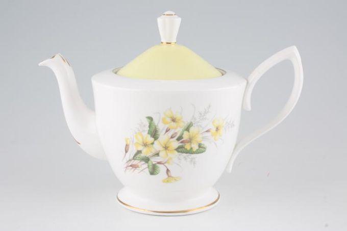 Royal Albert Primrose Teapot 1 1/4pt