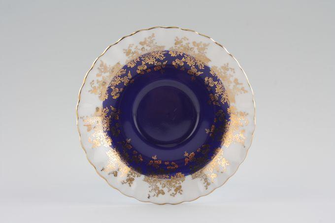 "Royal Albert Regal Series - Blue Tea Saucer 5 1/2"""