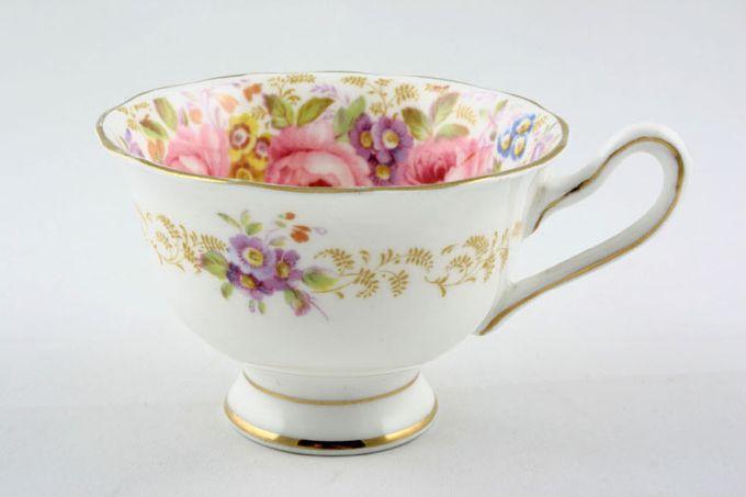 """Royal Albert Serena Teacup Big flowers inside 3 3/4 x 2 5/8"""""""