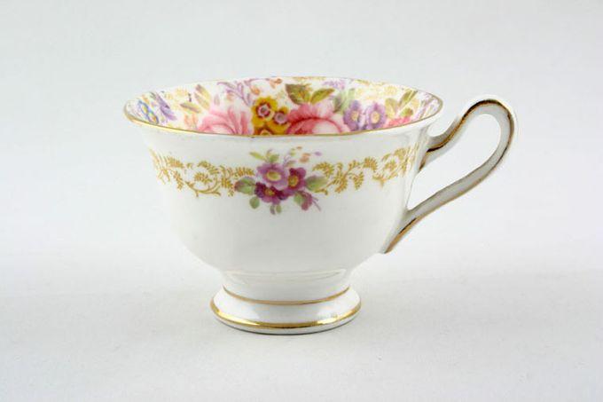 """Royal Albert Serena Coffee Cup Big flowers inside 3 x 2 1/4"""""""