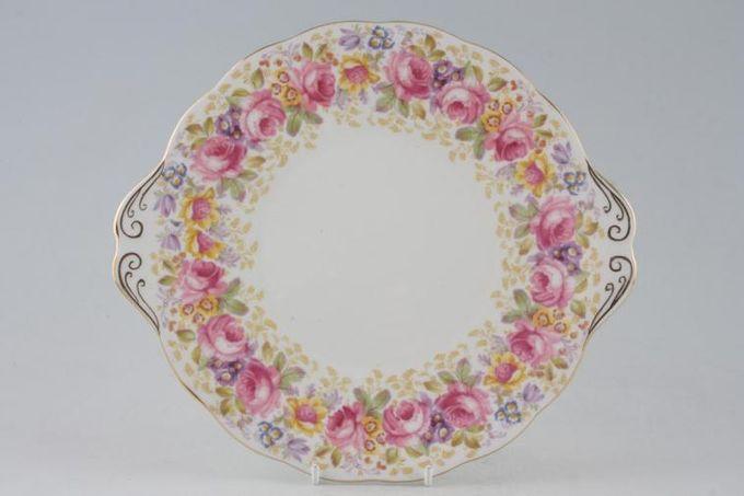 """Royal Albert Serena Cake Plate 9 3/4"""""""