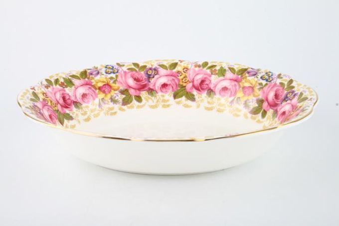 "Royal Albert Serena Vegetable Dish (Open) 9 1/4"""