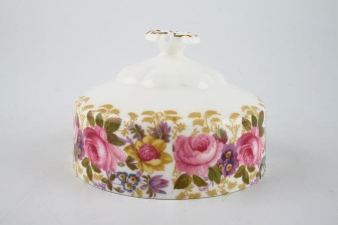 Royal Albert Serena Butter Dish Lid Only Round 4""