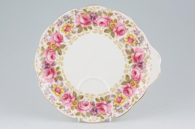 Royal Albert Serena Party Plate Eared on one side 8 3/4""