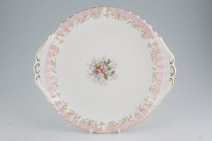"""Royal Albert Serenity Cake Plate 10 3/4"""""""