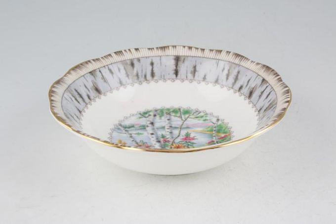 """Royal Albert Silver Birch Fruit Saucer 5 3/8"""""""