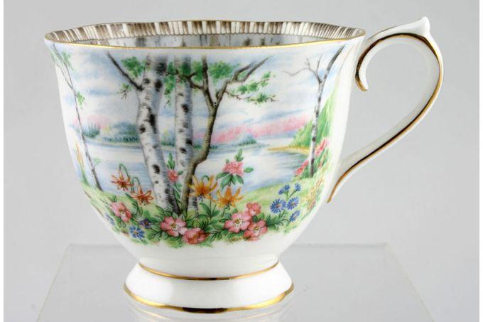 "Royal Albert Silver Birch Teacup 3 3/8 x 2 3/4"""