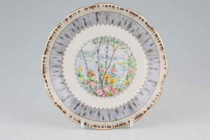 Royal Albert Silver Birch Tea Saucer 5 1/2""