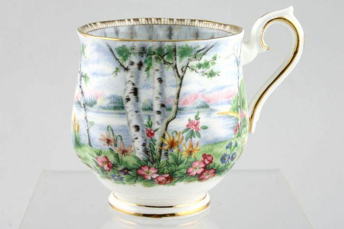 "Royal Albert Silver Birch Coffee Cup 2 3/8 x 2 5/8"""