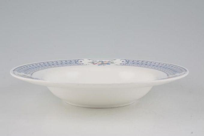 """Royal Albert Songbird Rimmed Bowl Rimmed 8"""""""
