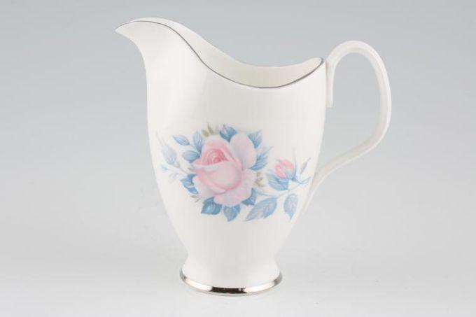 Royal Albert Sorrento - Silver Edge Milk Jug 1/2pt