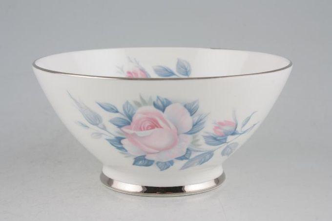"""Royal Albert Sorrento - Silver Edge Sugar Bowl - Open (Tea) 4 5/8"""""""