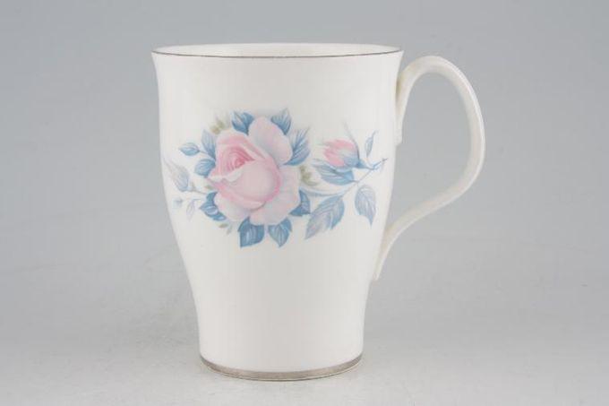 """Royal Albert Sorrento - Silver Edge Mug 3 1/4 x 4"""""""