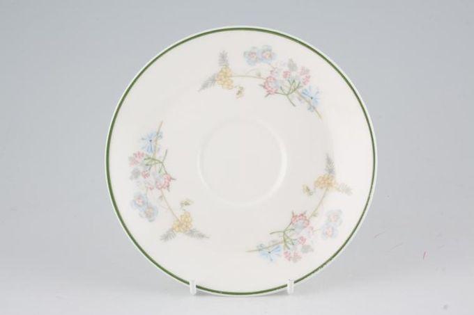 """Royal Albert Spring Dawn Tea Saucer 6"""""""