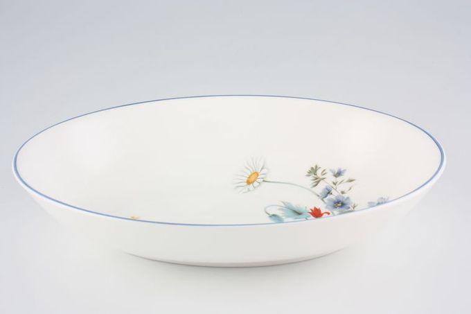 "Royal Albert Summer Breeze Vegetable Dish (Open) 10"""