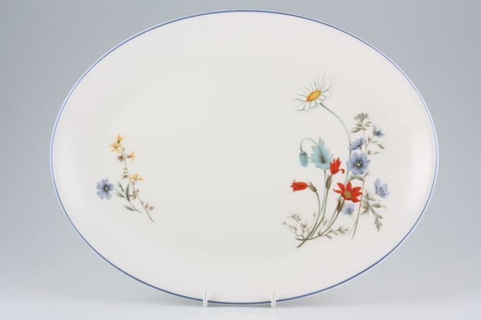 Royal Albert Summer Breeze Oval Plate / Platter 13 1/2""