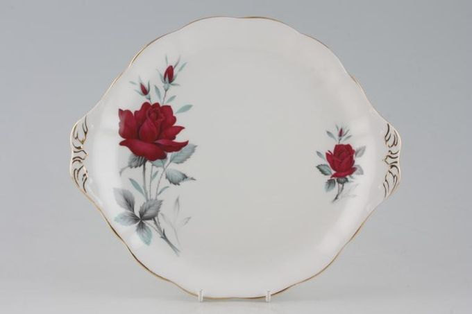 Royal Albert Sweet Romance Cake Plate Round