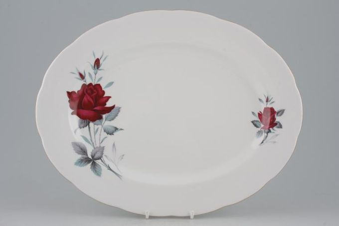 Royal Albert Sweet Romance Oval Platter 13""