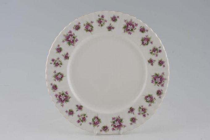 "Royal Albert Sweet Violets Dinner Plate 10 1/4"""