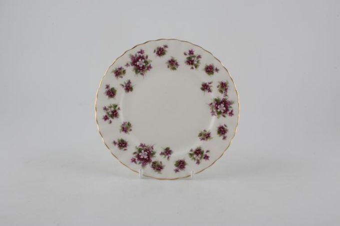 "Royal Albert Sweet Violets Tea / Side / Bread & Butter Plate 6 1/4"""