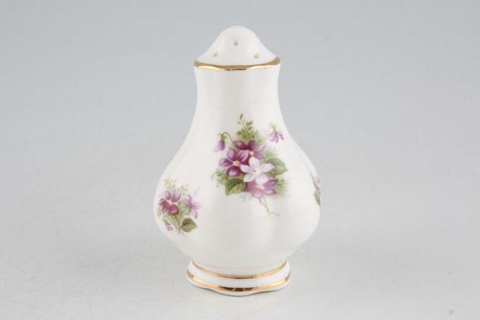 Royal Albert Sweet Violets Pepper Pot 9 holes