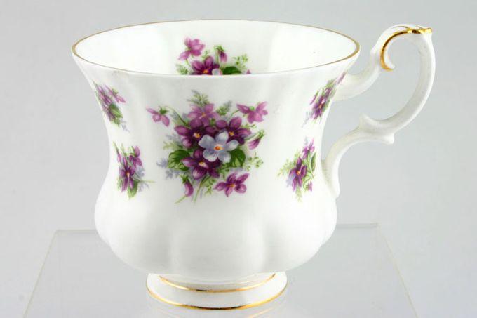 "Royal Albert Sweet Violets Coffee Cup 3 x 2 3/4"""