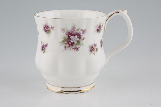 "Royal Albert Sweet Violets Mug Montrose shape similar to Montrose teacup 3 1/4 x 3 3/8"""