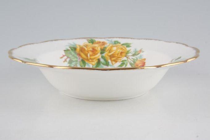 """Royal Albert Tea Rose Rimmed Bowl 8"""""""