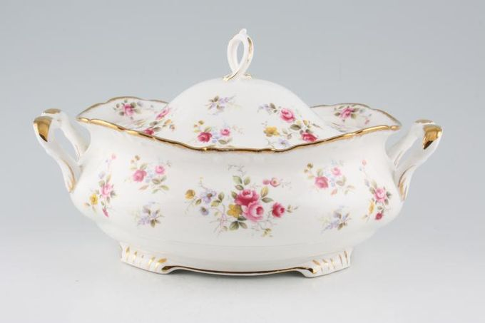 Royal Albert Tenderness Vegetable Tureen with Lid